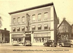 A photo of Carroll's Department Store.