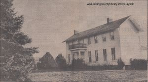 A photo of the house purchased by Marie Hickey.