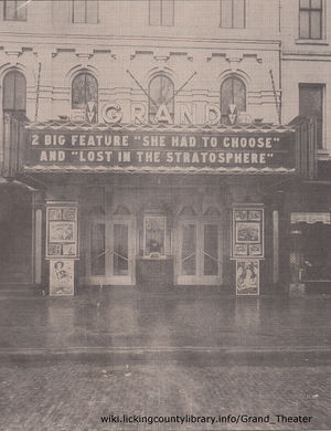 A photo of the Grand Theater.